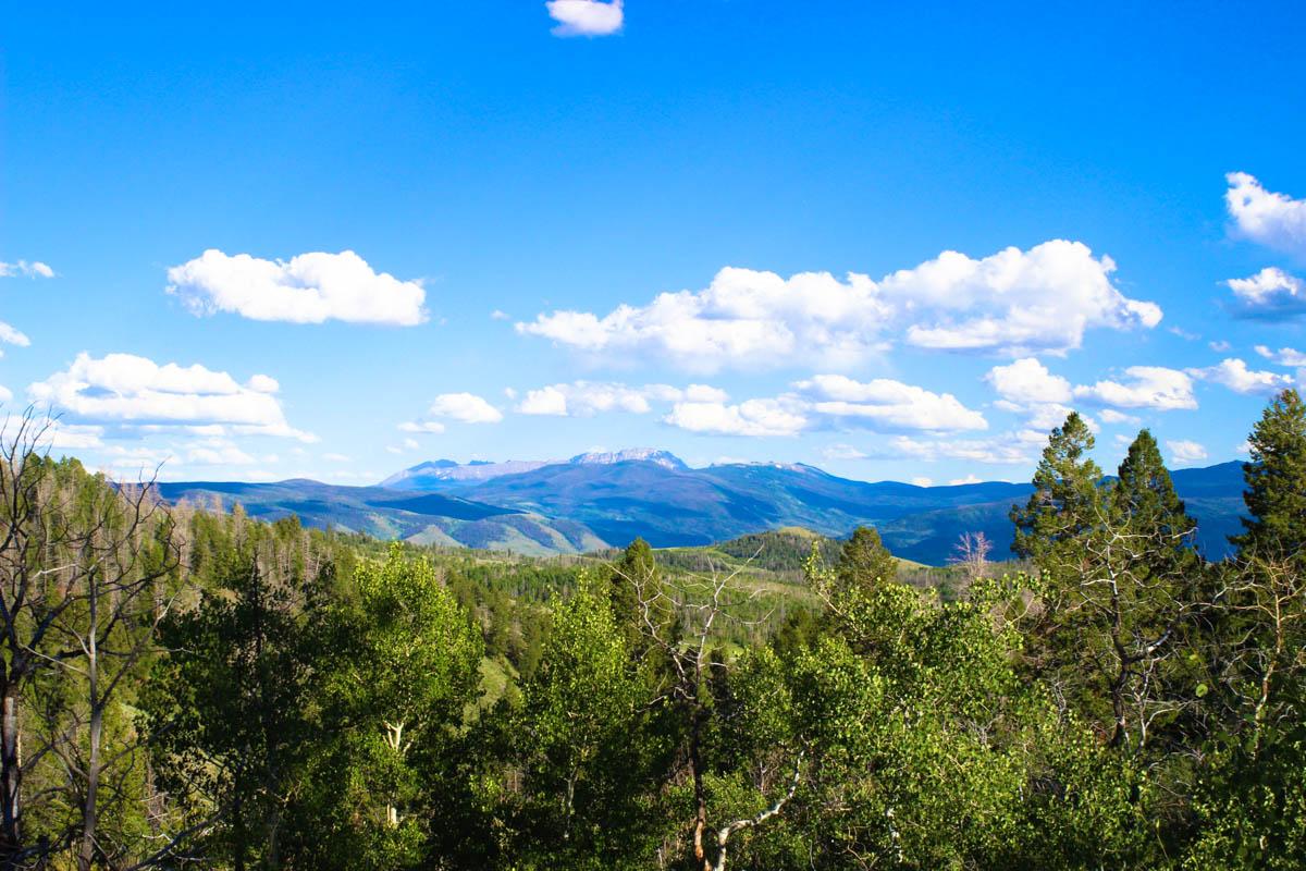 Stunning Mountain Vista