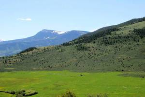 Mountains near and far