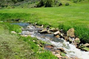 Fresh running water