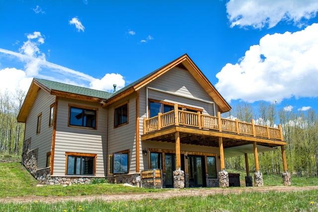 Main Home at Aspen Ridge Ranch